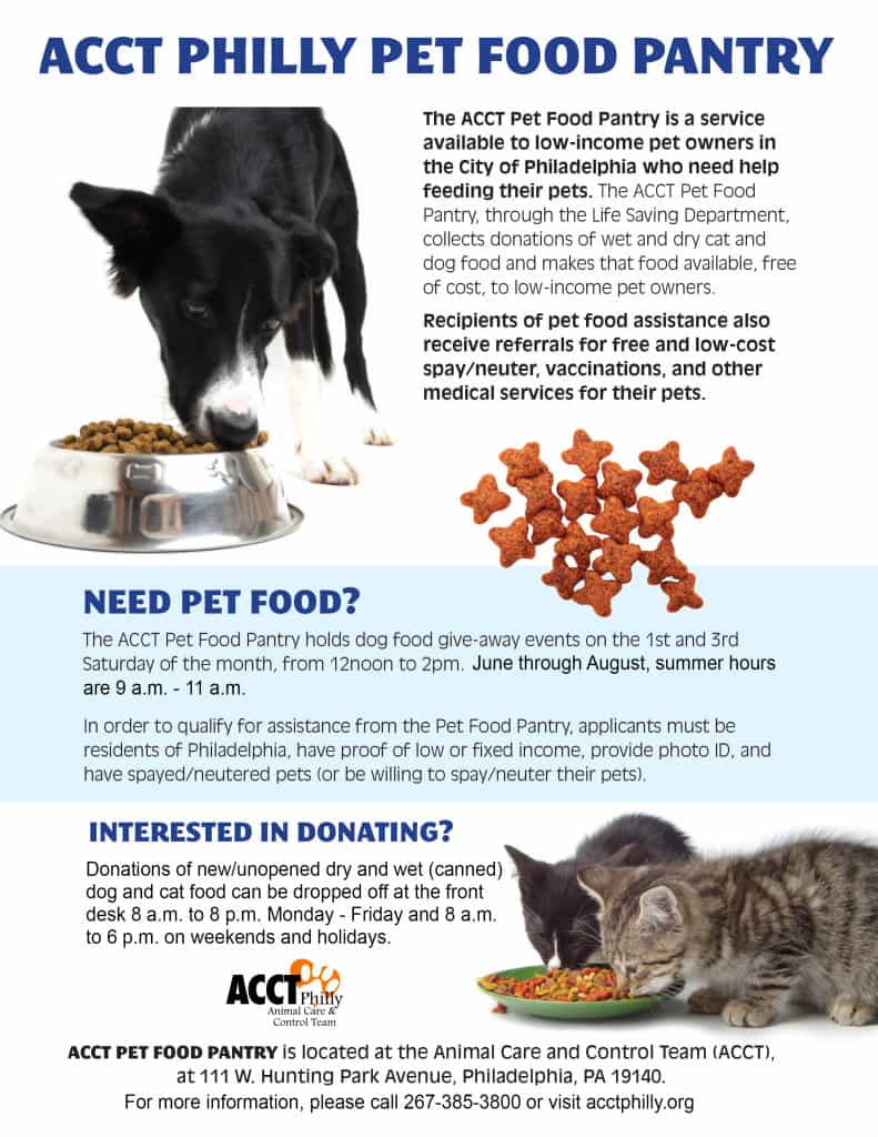 pet food pantry 2015 update