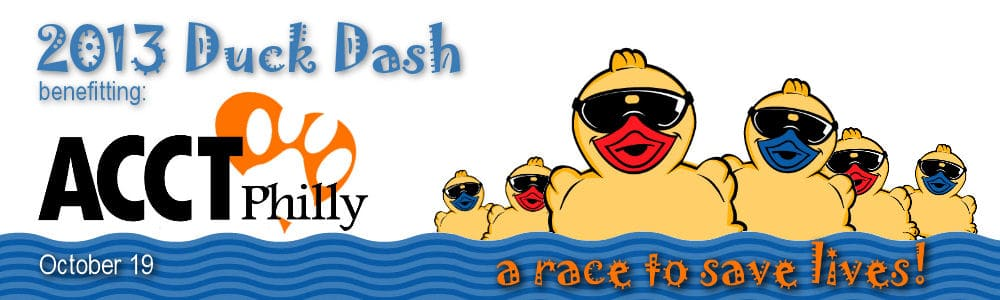 logo banner duck race