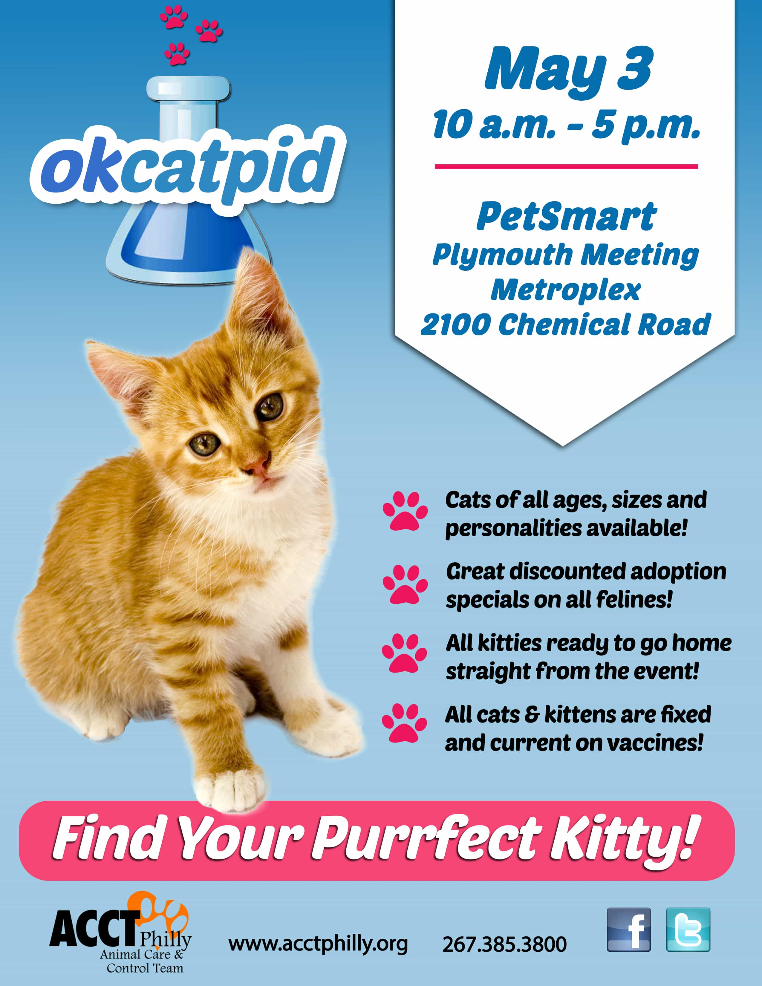 May Adoption Specials Amp Events Acct Philly