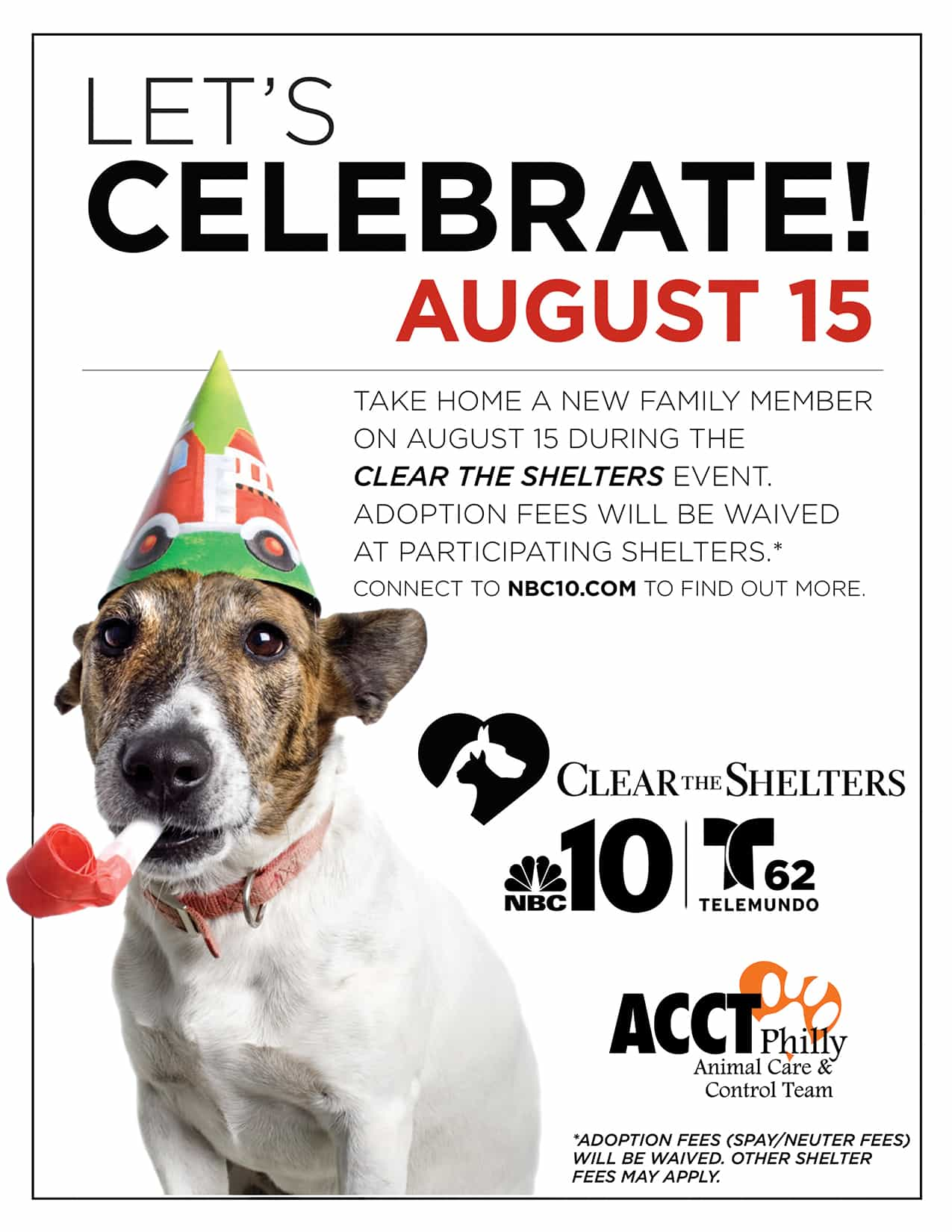 Clear the Shelter Adoption Event | ACCT Philly