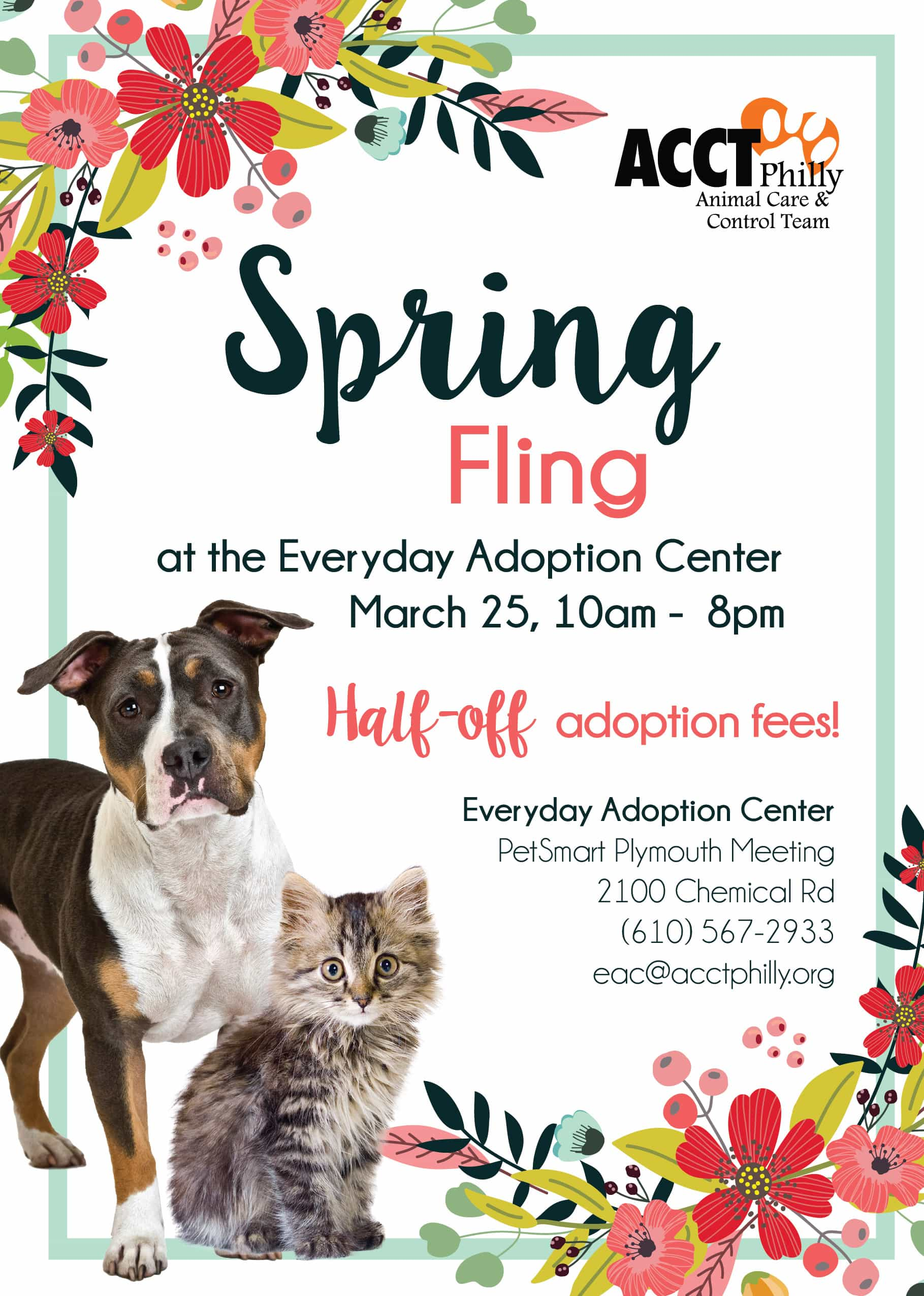 March Adoption Events And Promotions Acct Philly